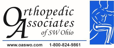 Orthopedic Associates of southwest Ohio logo www.oaswo.com 1 800 824 9861